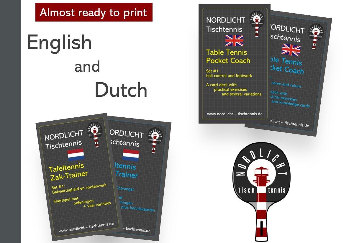 English and Dutch Pocket Coaches